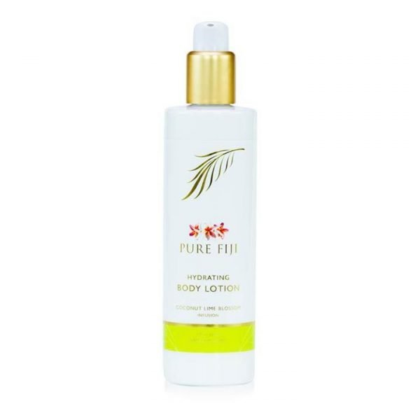 Pure Fiji Hydrating Body Lotion - Coconut Lime Blossom Infusion 30ml Travel Size