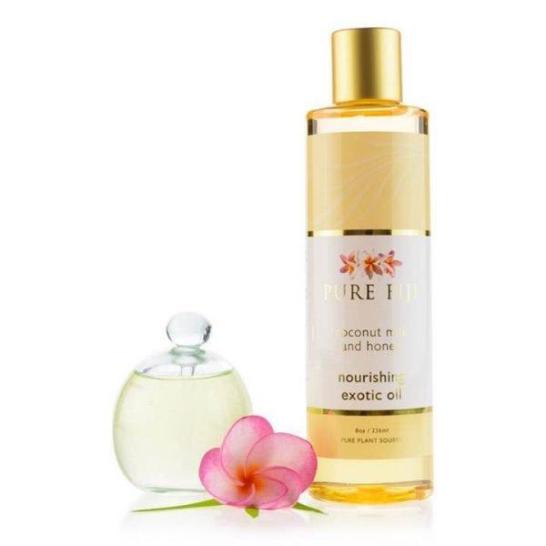 Pure Fiji Nourishing Exotic Oil - Coconut Milk & Honey Infusion 236ml