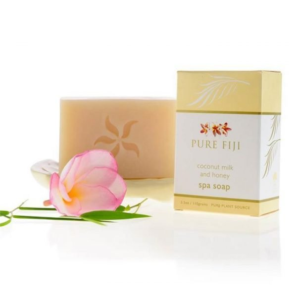 Pure Fiji Spa Soap - Coconut Milk and Honey Infusion 110g