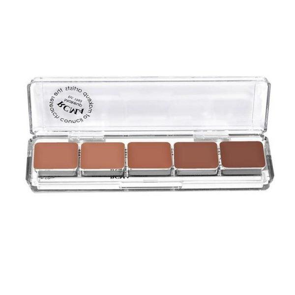 RCMA Makeup 5 Part Series Foundation Palette - KT Series