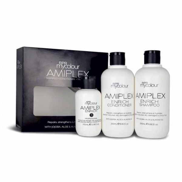 RPR Amiplex Enrich Shampoo Conditioner Treatment Kit