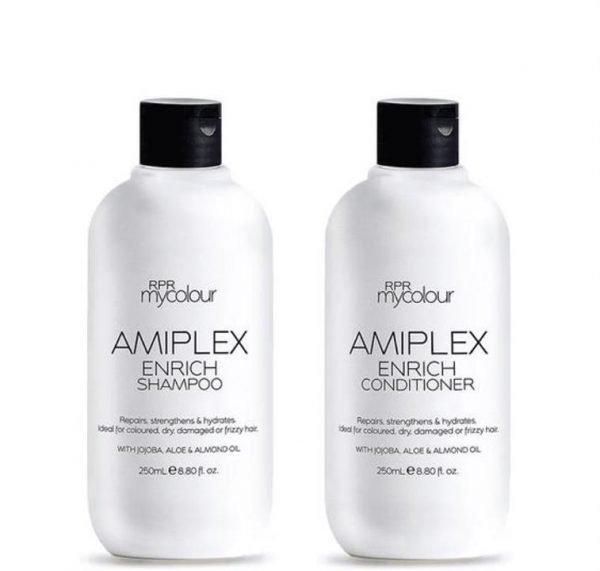 RPR Amiplex Enrich Shampoo and Conditioner 250ml Duo Pack