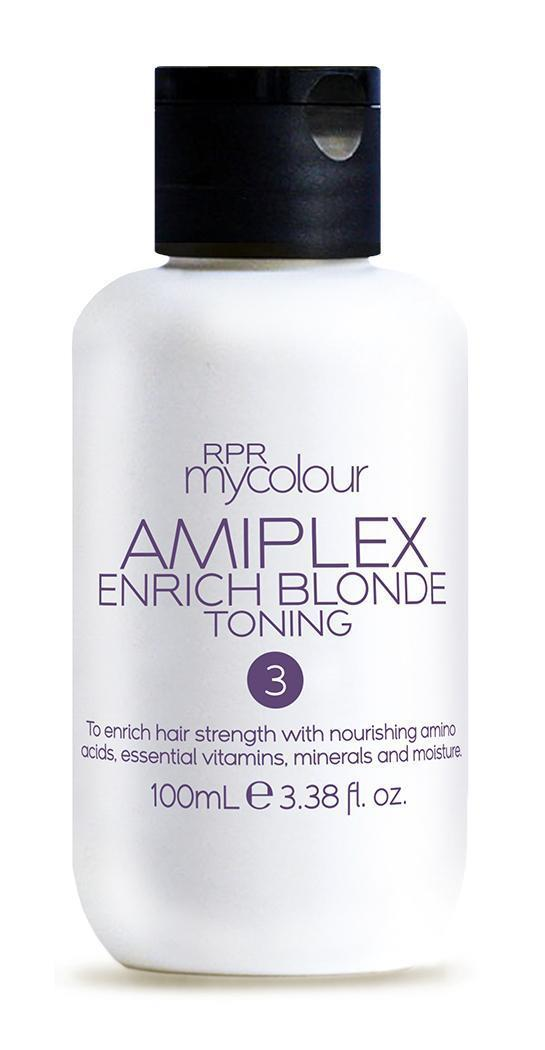 RPR Amiplex Stage 3 Enrich Blonde Toning Treatment 100ml