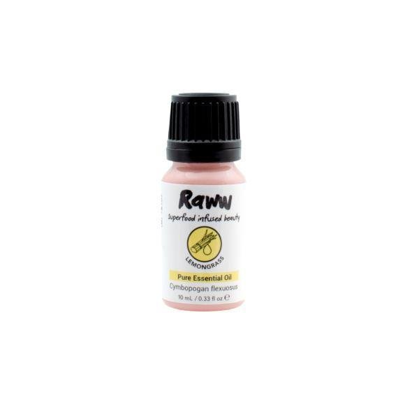 Raww Lemongrass Pure Essential Oil - 10ml