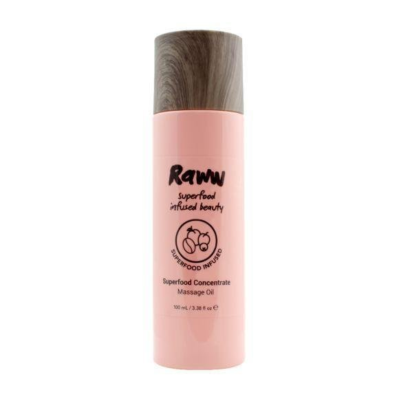 Raww Superfood Concentrate Massage Oil 100ml