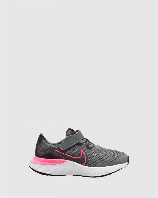Renew Run Ps G Smoke Grey/Hyper Pink