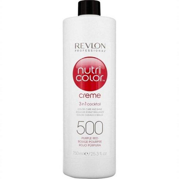 Revlon Professional Nutri Color Creme 500 Purple Red 750ml