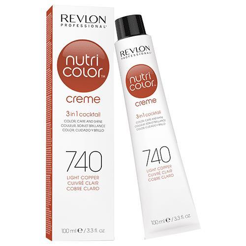 Revlon Professional Nutri Color Creme 740 Light Copper 100ml