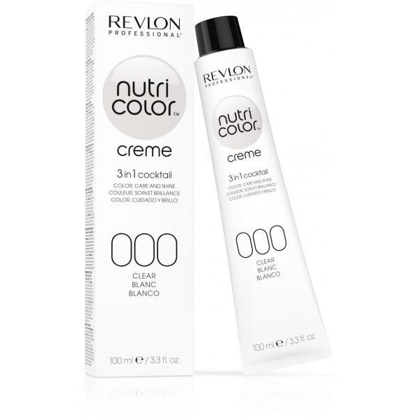 Revlon Professional Nutri Color Creme Fondant Colors White 000 100ml