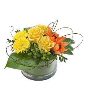 Rhapsody - Bright Vase Arrangement