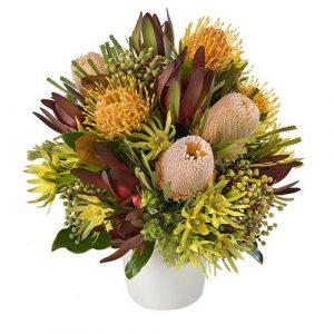 Salamanca - Arrangement of Wildflowers in a Ceramic Vase