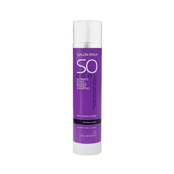 Salon Only Cool Ultimate Silver Blonde Toning Shampoo 300ml
