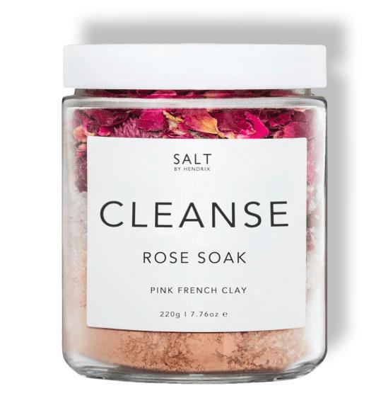 Salt by Hendrix Cleanse 220g - Rose Soak