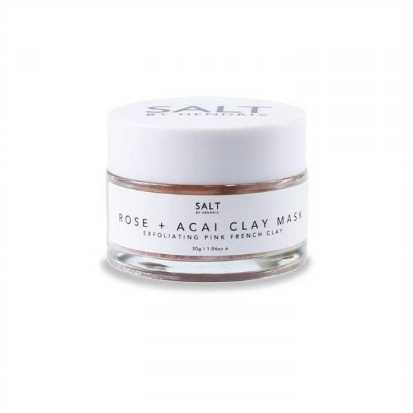Salt by Hendrix Rose & Acai Clay Face Mask
