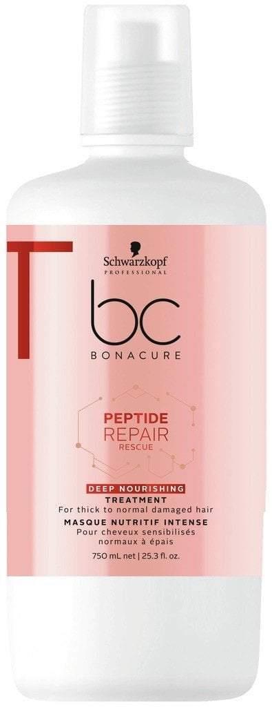 Schwarzkopf BC BONACURE Peptide Repair Rescue Treatment 750ml