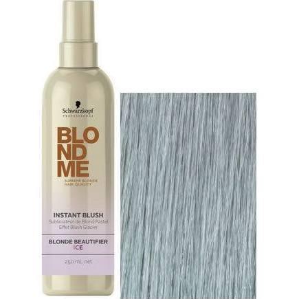 Schwarzkopf BLONDME Instant Blush Temporary Hair Colour- Ice 250ml