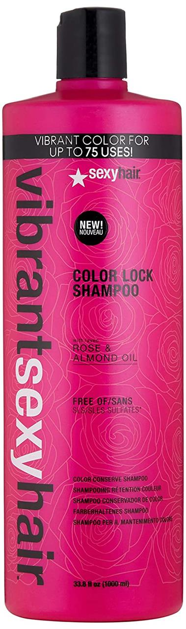 Sexy Hair Vibrant Color Lock Shampoo 1000ml