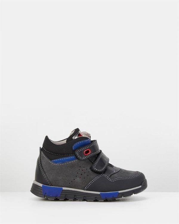 Sf Strap Boot B 581212 Yth Black/Red