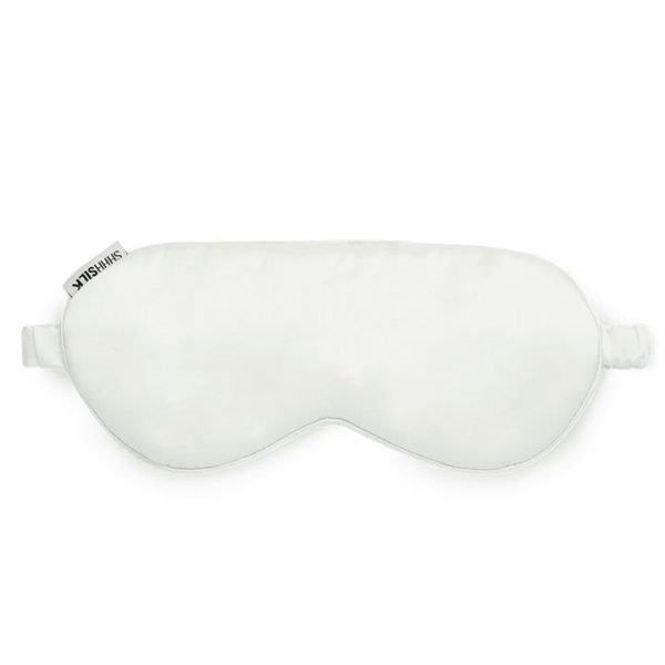 Shhh Silk Off White Silk Sleep Mask