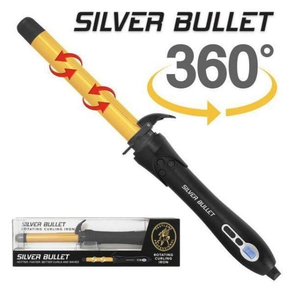 Silver Bullet Fastlane Rotating Curling Iron