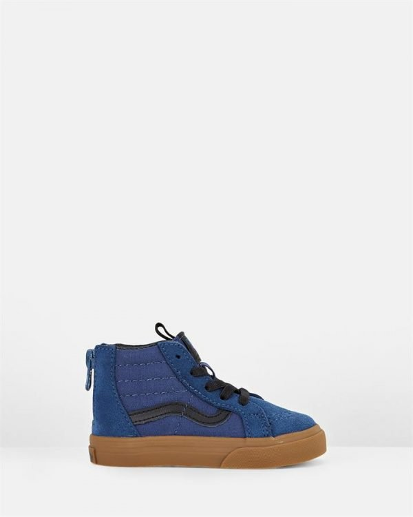 Sk8 Hi Zip Inf B Denim/Black