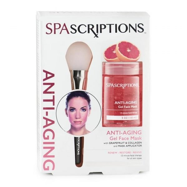 Spascriptions Anti-Aging Gel Face Mask 150mL with Applicator