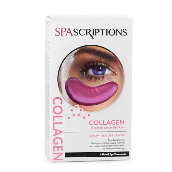Spascriptions Collagen Hydrogel Under-Eye Pads - 4 Pairs