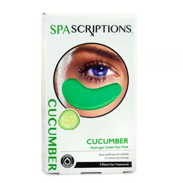 Spascriptions Cucumber Hydrogel Under-Eye Pads - 4 Pairs