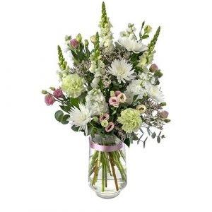 Splendour - Large Bouquet in Tall Glass Vase