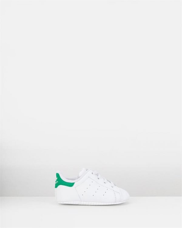 Stan Smith Crib White/Green