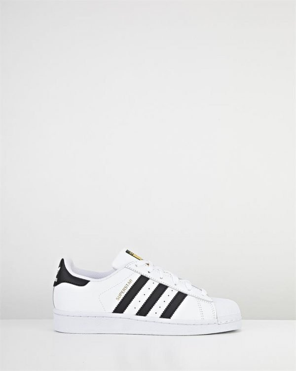 Superstar Foundation Mens White/Black
