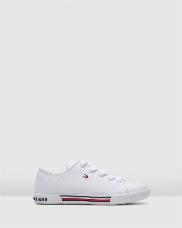 Th Lace Canvas Sneaker Ii Snr White