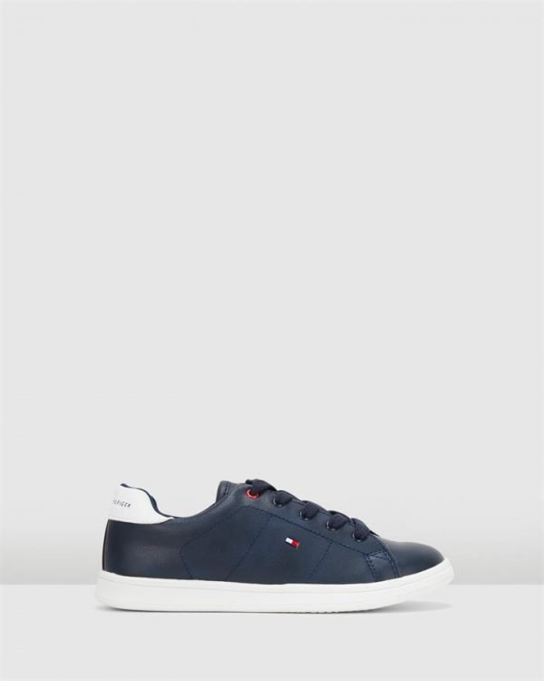 Th Lace Classic Sneaker B Navy