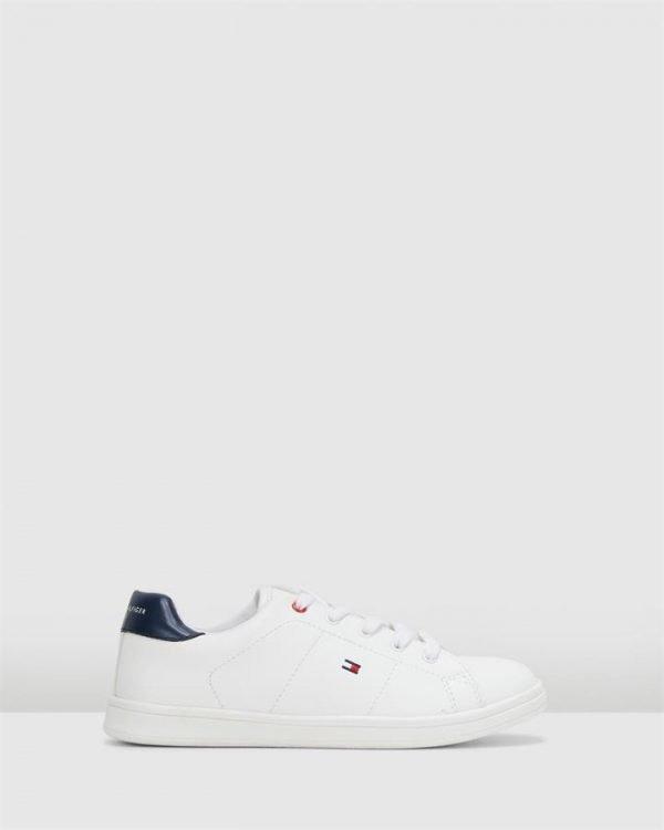 Th Lace Classic Sneaker B White