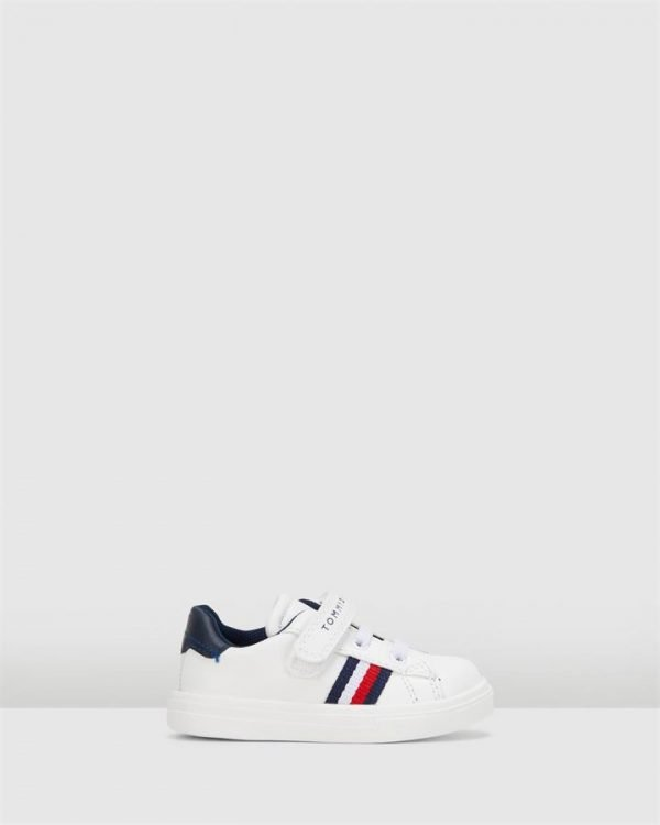 Th Sf Classic Flag Sneaker B White/Navy