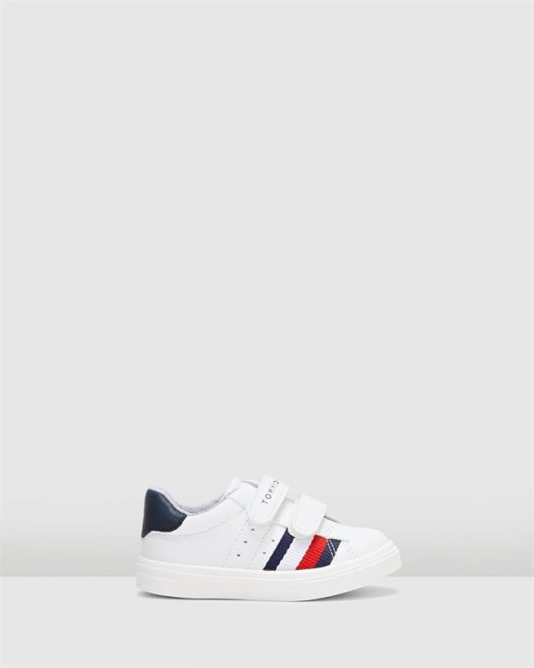 Th Sf Flag Sneaker B White/Navy
