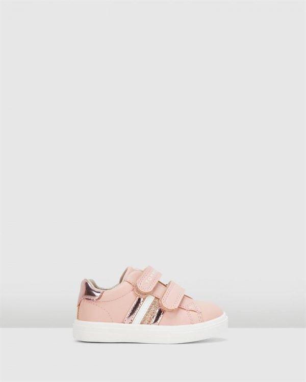 Th Sf Glitter Stripe G Powder Pink