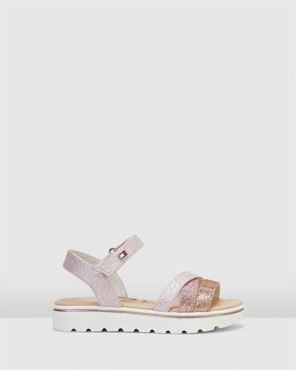 Th Sf Multistrap Flag Sandal Pink