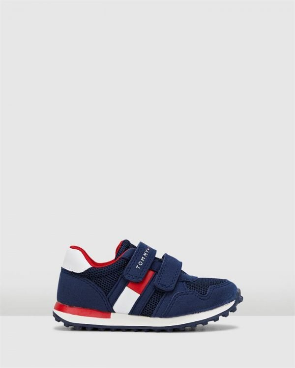 Th Sf Retro Sneaker Navy