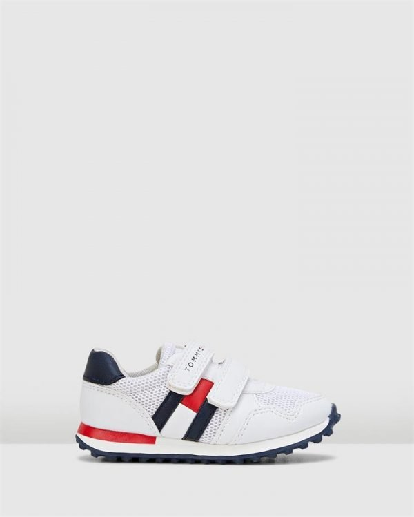 Th Sf Retro Sneaker White/Navy