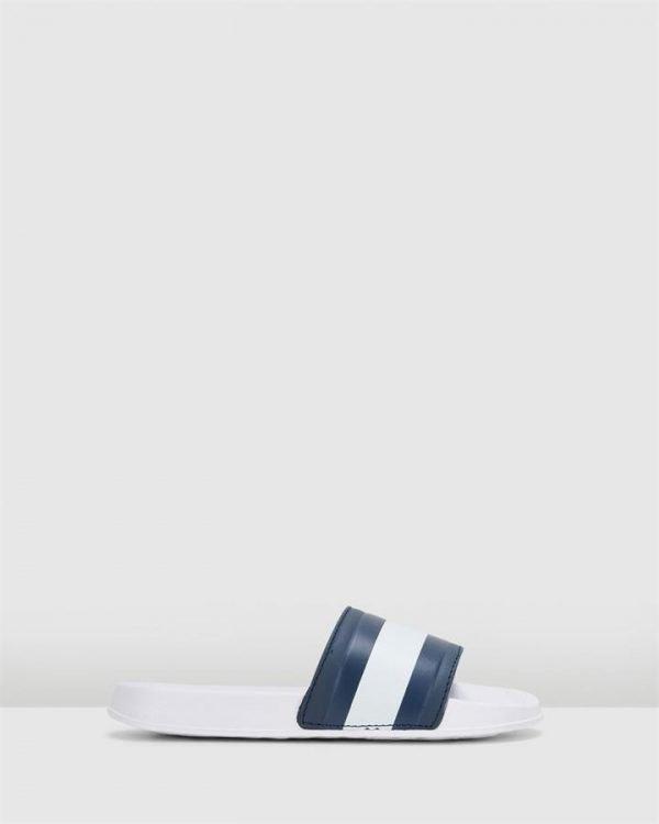 Th Slider Pool Slide Snr White/Red/Navy
