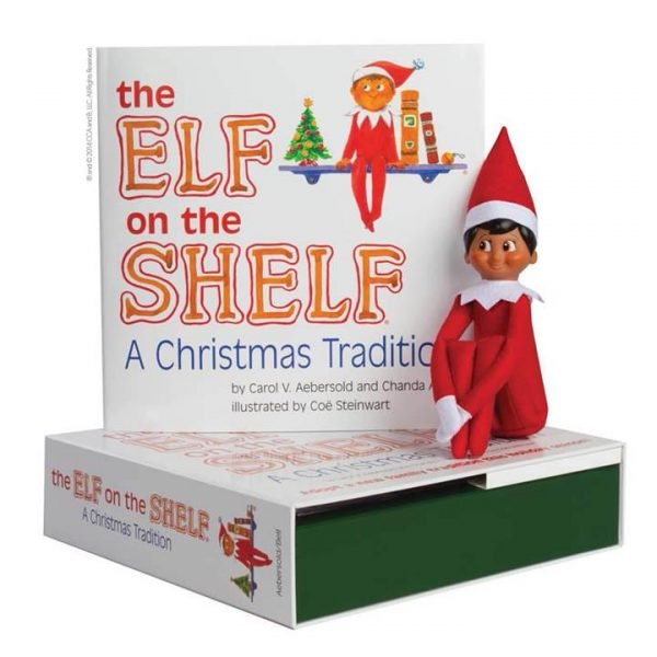 The Elf on the Shelf A Christmas Tradition with Boy Scout Elf brown eyes