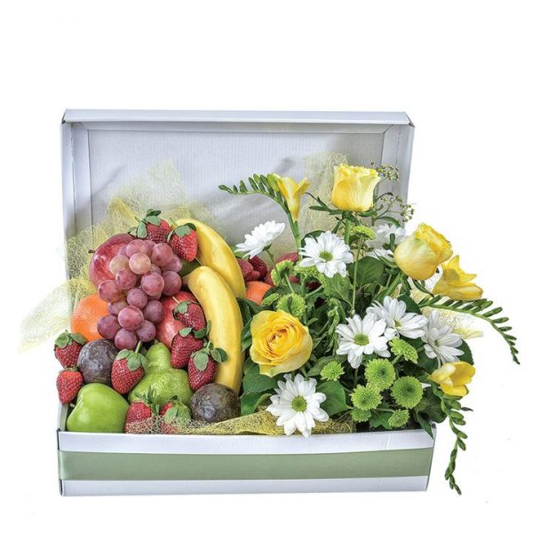 Thinking of You - Fruit and Flower Hamper
