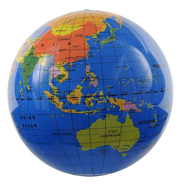 Tiger Tribe 30 cm Inflatable World Globe