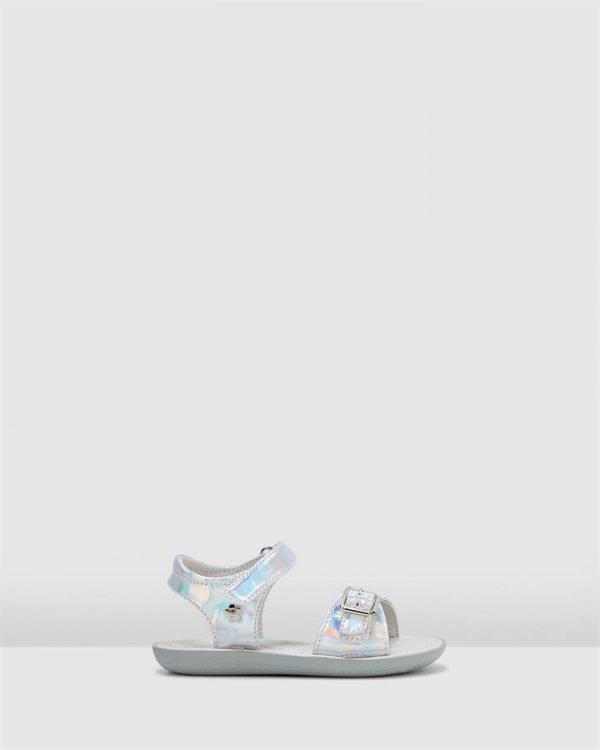 Tinkerbell Metallic Sandal Yth Silver