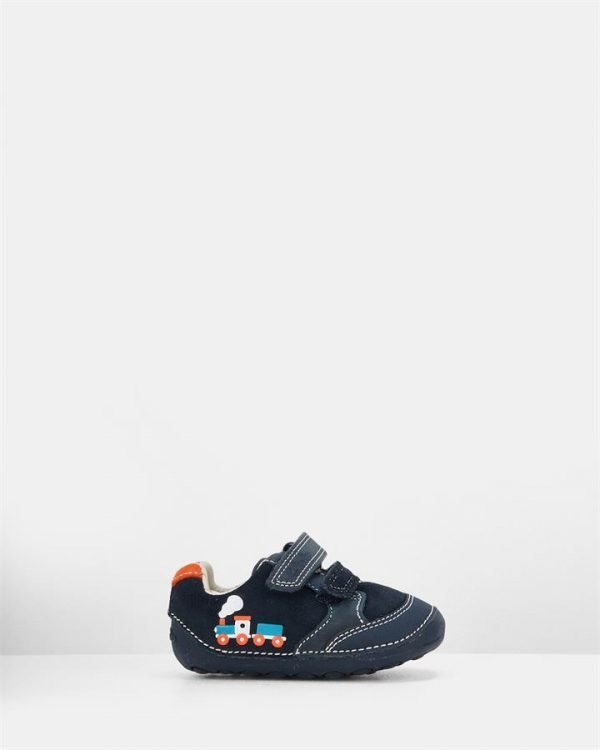 Tiny Tom Navy Leather