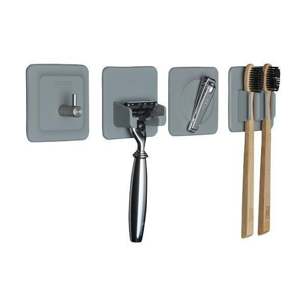 Tooletries The 4in1 Silicone Tile Series - Grey