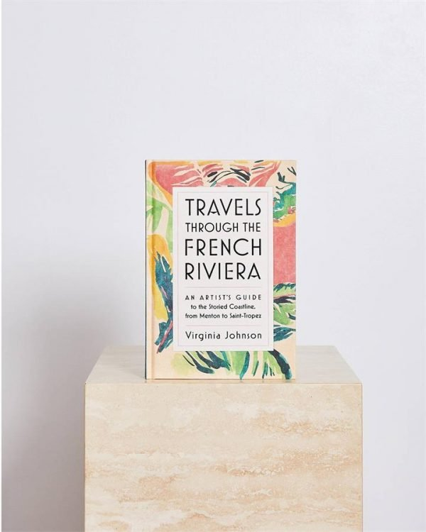 Travels Through The French Riviera by Virginia Johnson - Bed Threads
