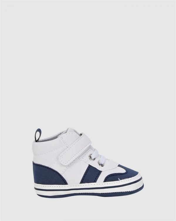 Tristan Hi Top Navy/White