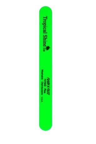 Tropical Shine Fine Green Nail File